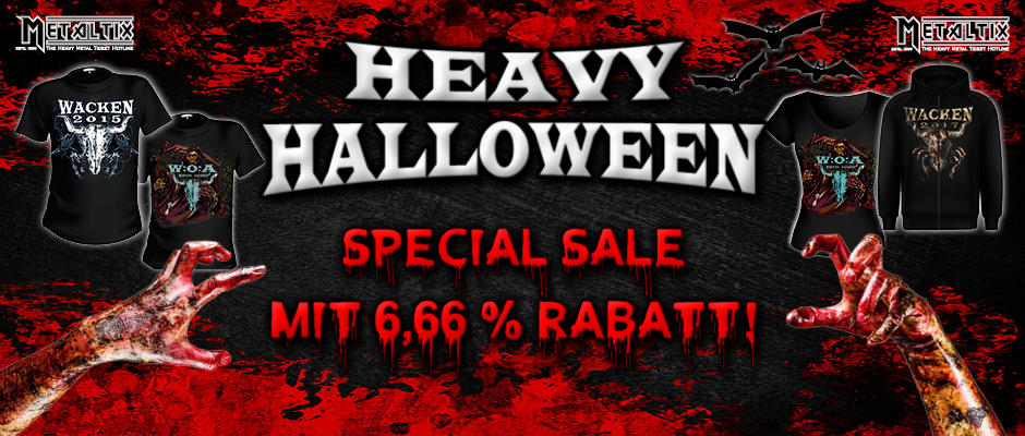 Heavy Halloween - Selected Merchandise On Discount