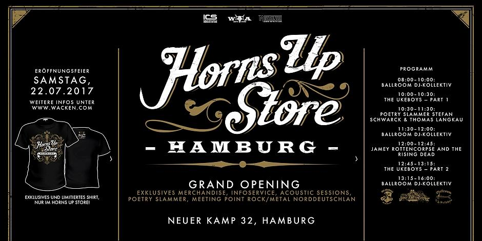 Horns Up Store Hamburg