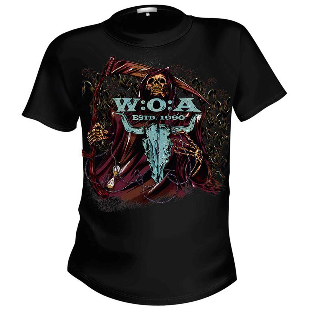 W:O:A T-Shirt - Reaper - Back: See you in Wacken -