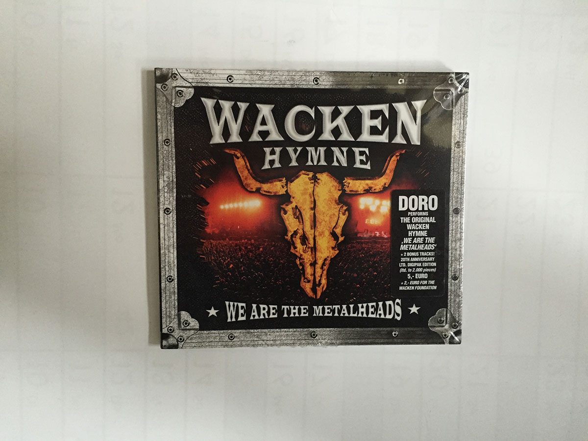 CD - Wacken Hymne 2009 - We are the Metalheads -