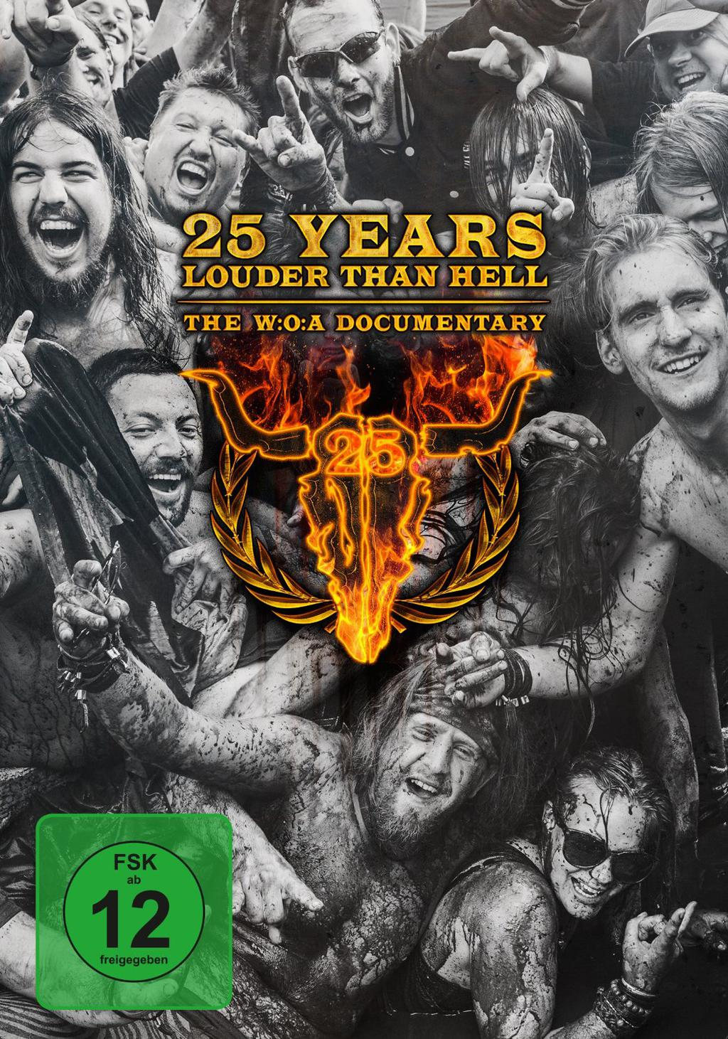 The W:O:A Documentary - 25 Years Louder Than Hell BluRay -