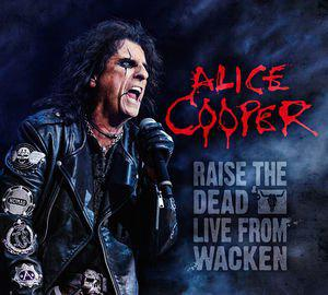 Alice Cooper, RAISE THE DEAD / MASTERS OF MADNESS TOUR 2013 2CD/DVD -