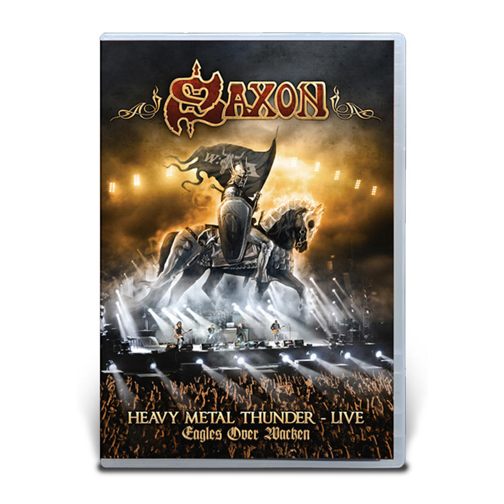 Saxon, Heavy Metal Thunder - Live - Eagles over Wacken DVD -
