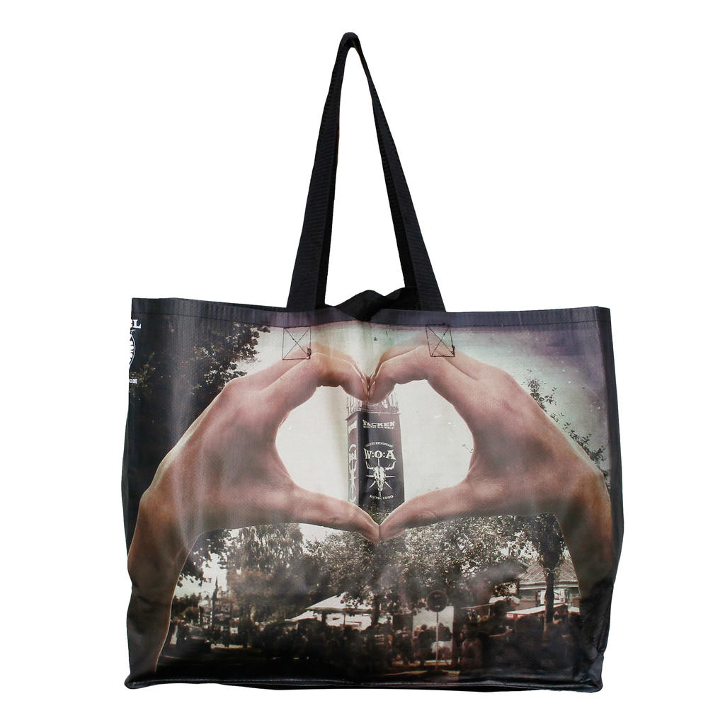 W:O:A - Shopping Bag - Faster Harder Louder -