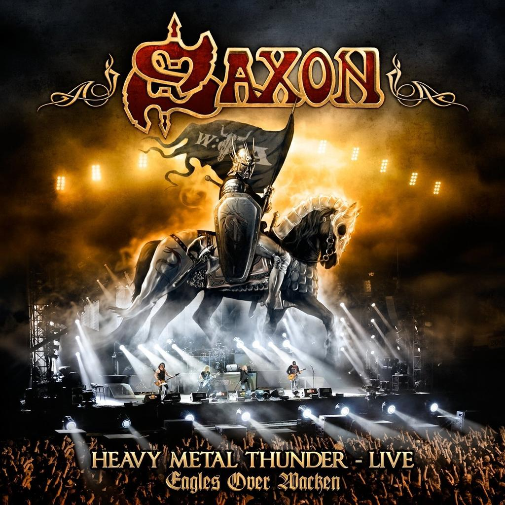Saxon, Heavy Metal Thunder - Live - Eagles over Wacken CD Jewel Case -