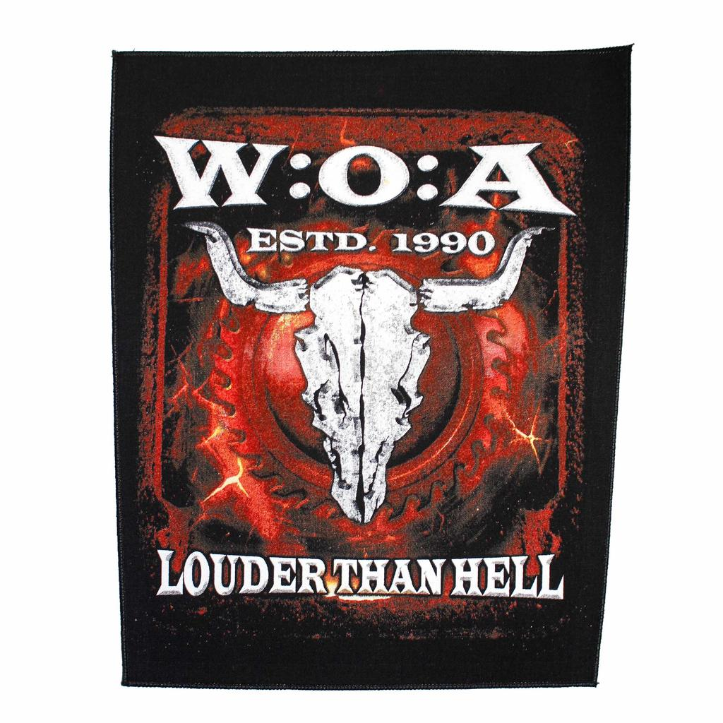 W:O:A - Backpatch - Louder than Hell -