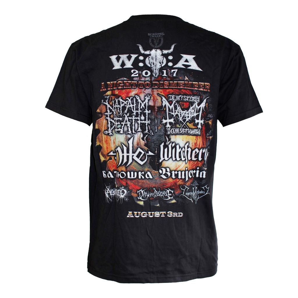 W:O:A - T-Shirt - Night To Dismember 2017 -