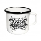 Wacken Winter Nights - Emaille Becher - Logo