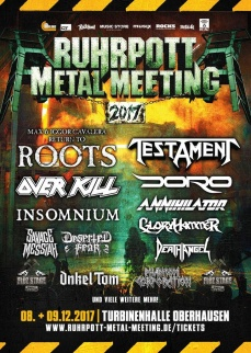 RUHRPOTT METAL MEETING 2017  | www.metaltix.com