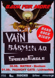 VAIN + BABYLON A.D. + SPREAD EAGLE